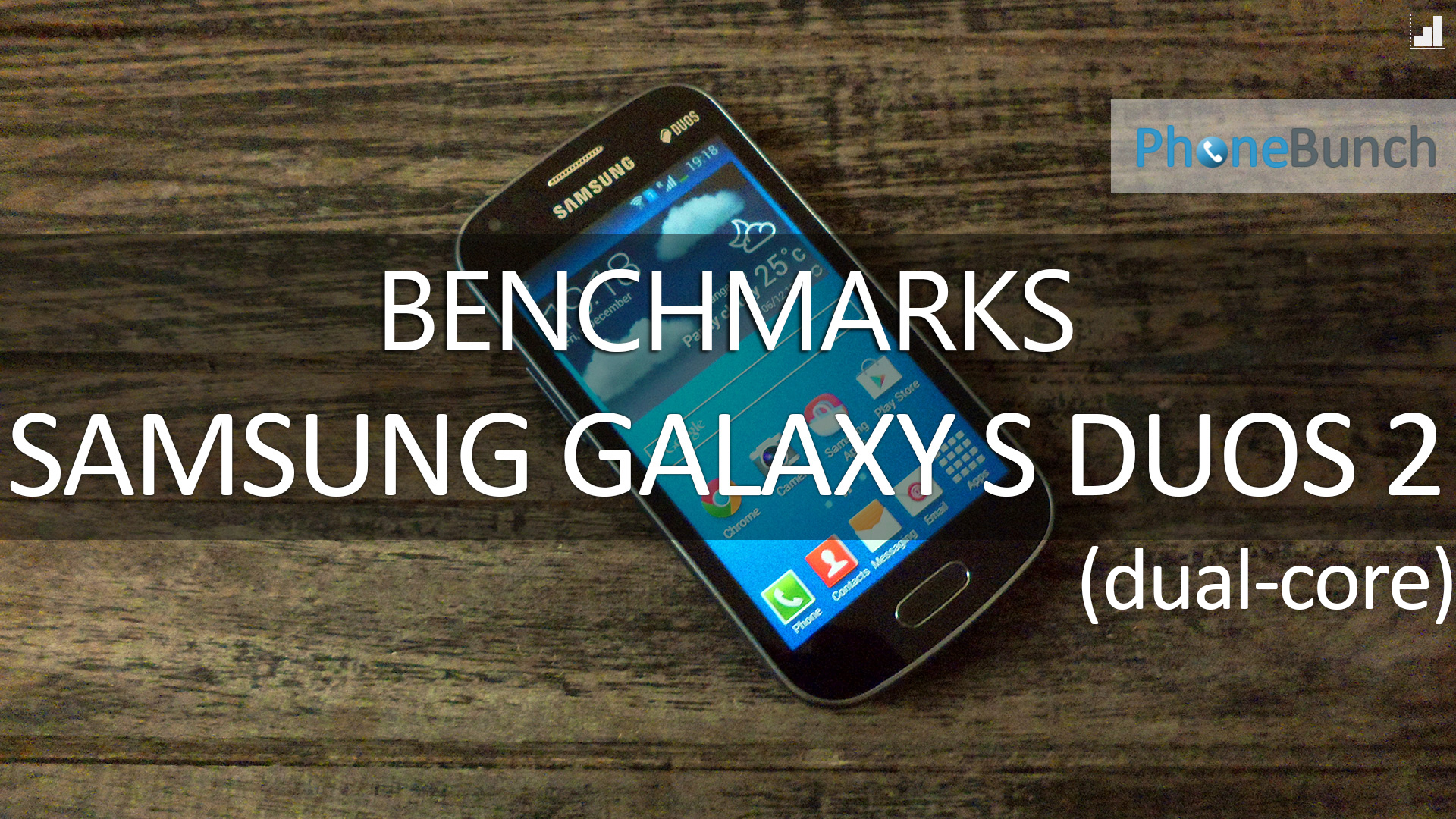 Samsung Galaxy S Duos 2 Benchmark