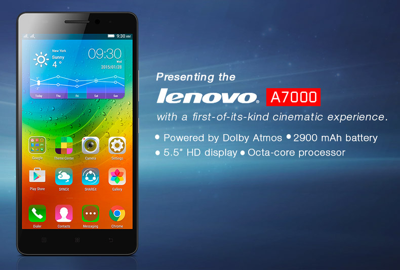 Lenovo A7000 Launched In India With 5 5