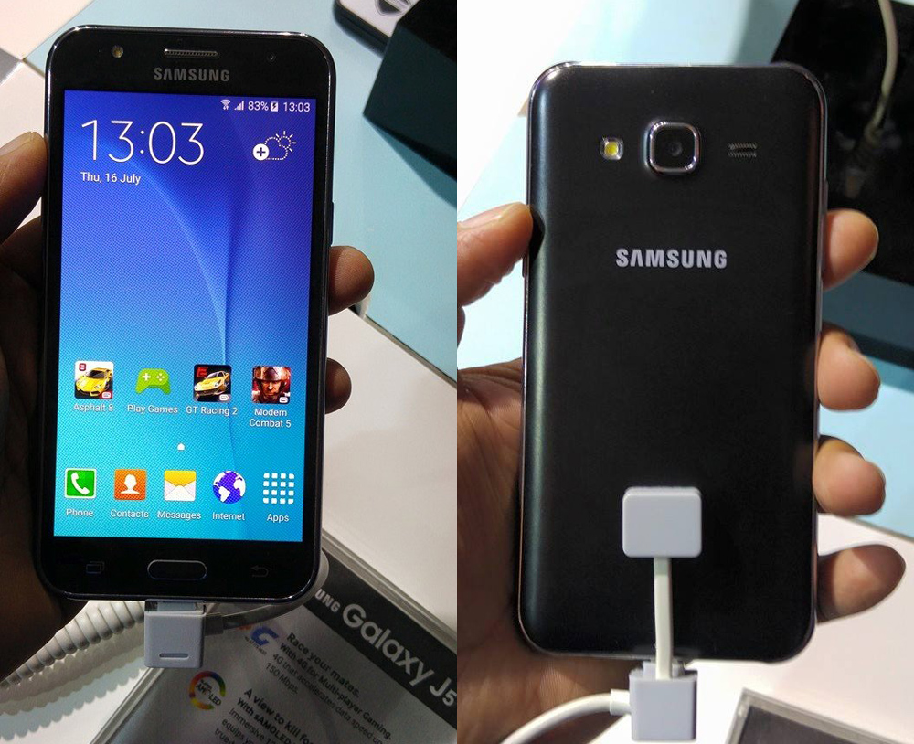Samsung Galaxy J5 India