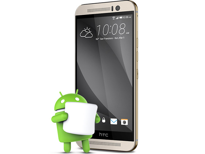 Htc One M9 One M8 Marshmallow