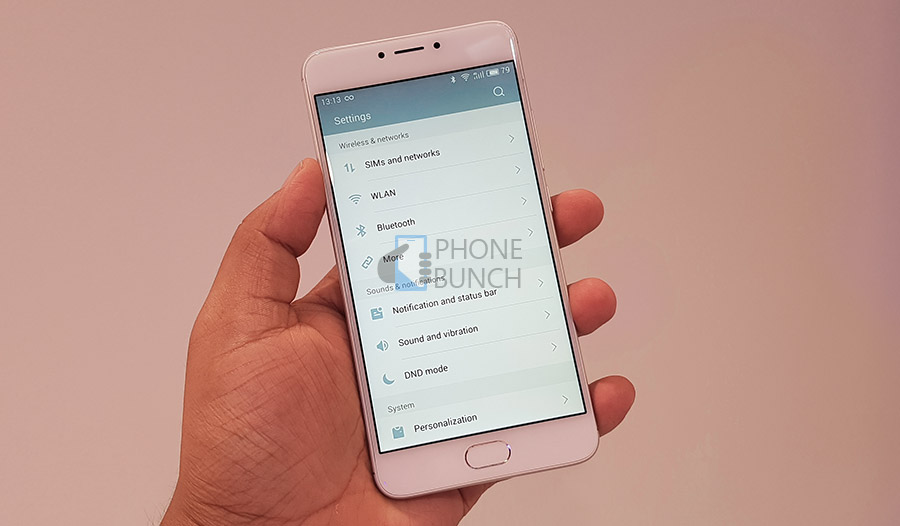 Meizu M3 Note Flyme5 System Settings