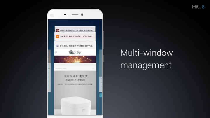Miui 8 Multi Window Management