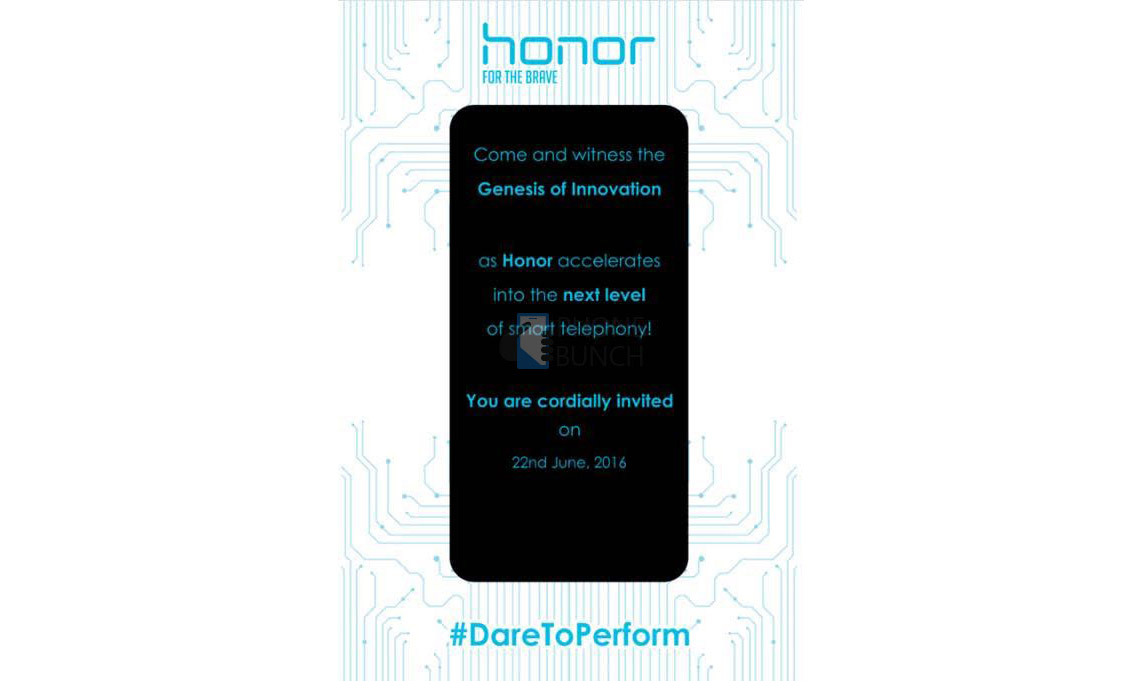 Honor 5c India Launch Invite