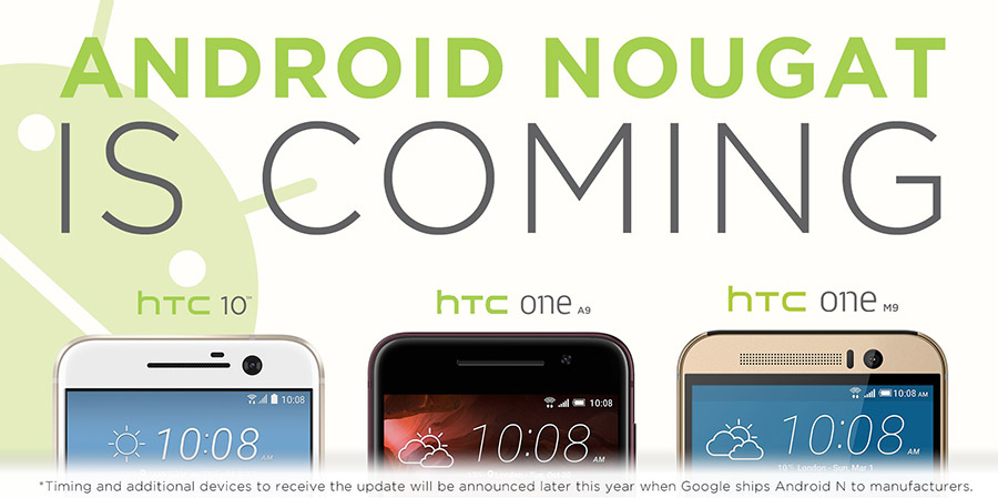 Htc Smartphones Android Nougat