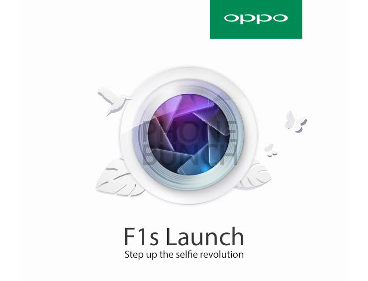 Oppo F1s Launch Invite