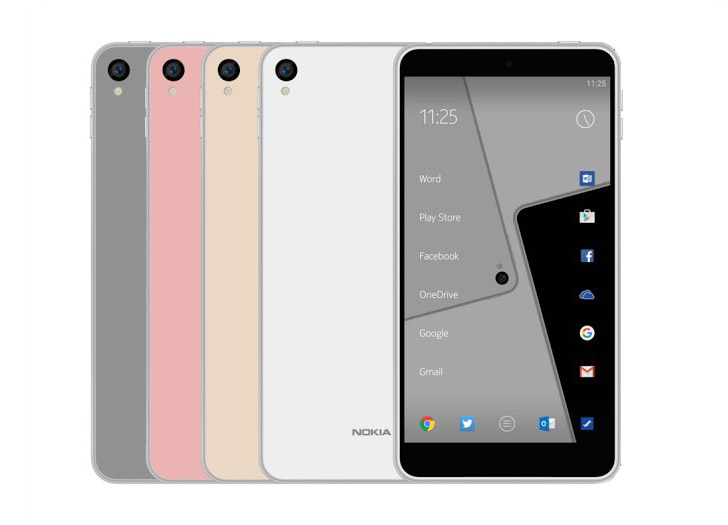 Nokia Android Smartphone Render