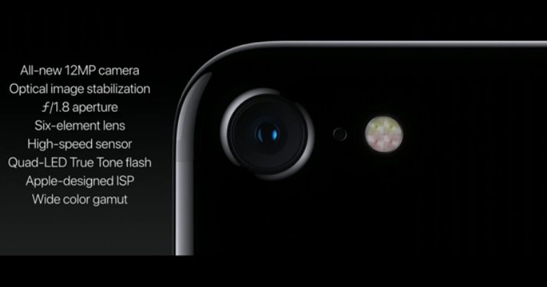 apple iphone 7 camera specs