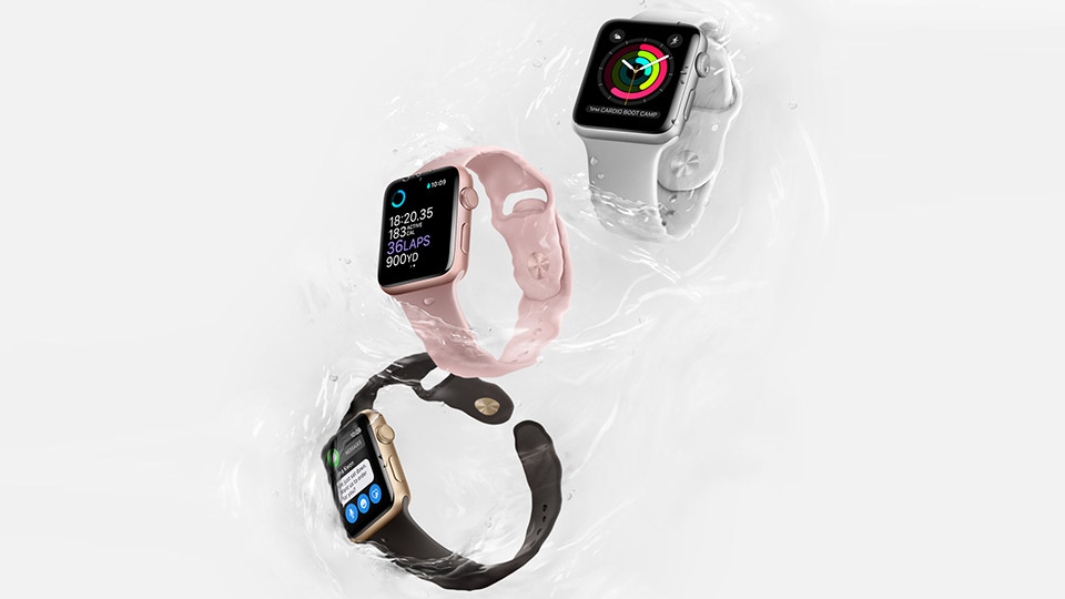 apple watch 2 water resistance