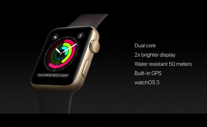 apple watch series 2 specs