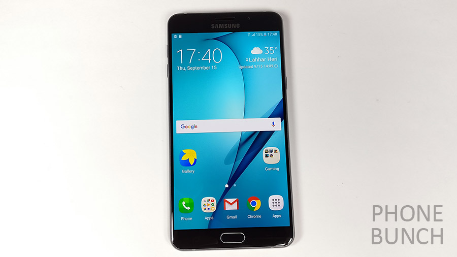 galaxy a9 pro front display