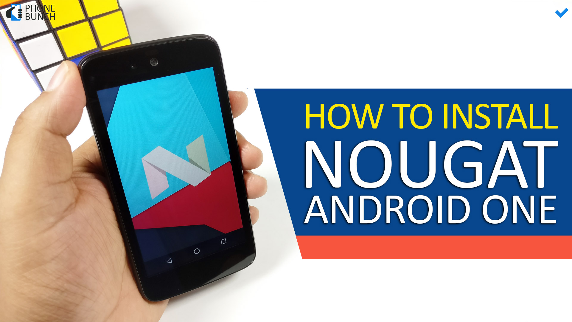 how to nougat android one
