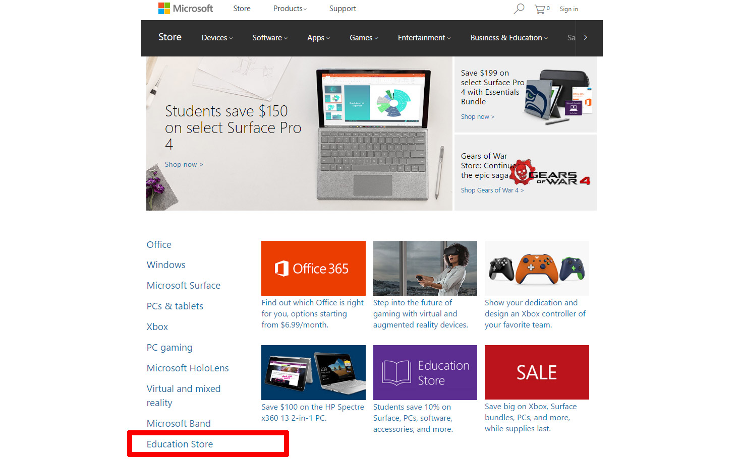 microsoft removes lumia smartphones from store homepage