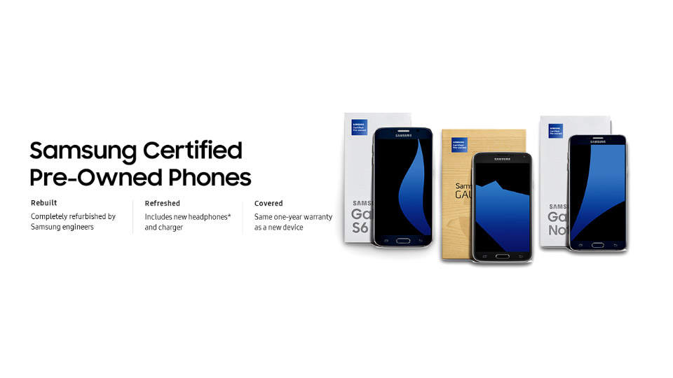 samsung galaxy refurbished smartphones