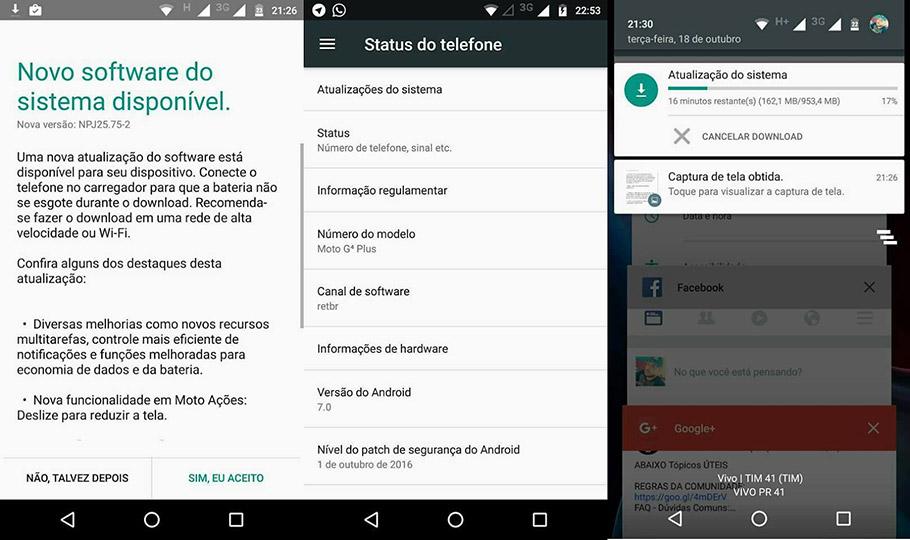 Moto G4 Plus Android 7.0 Nougat update coming soon, soak test begins