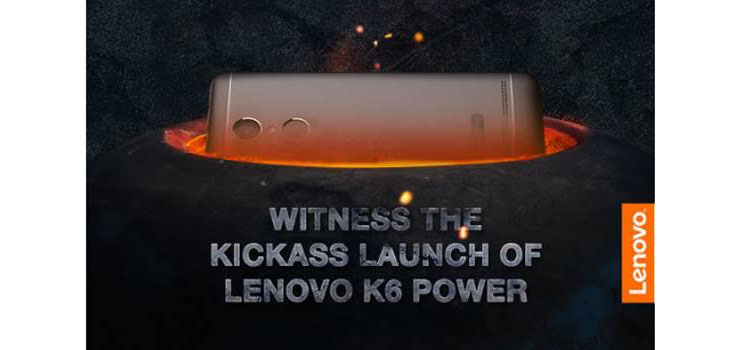 lenovo k6 note launch invite