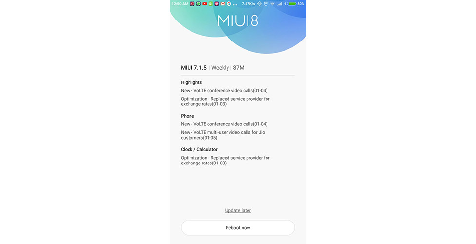 Xiaomi Redmi Note 3 gets VoLTE conference video call support with