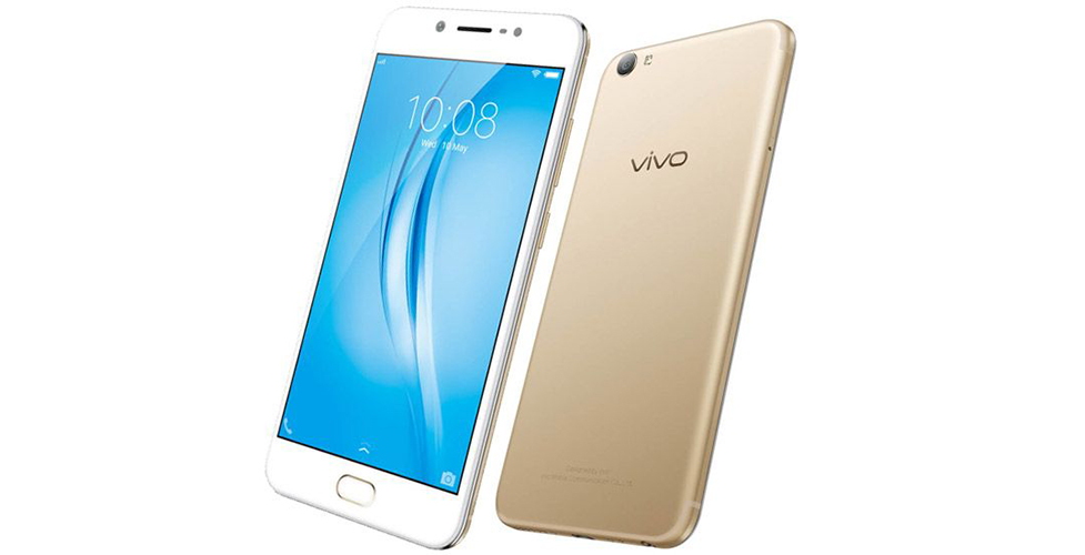 vivo v5s launched india crown gold color