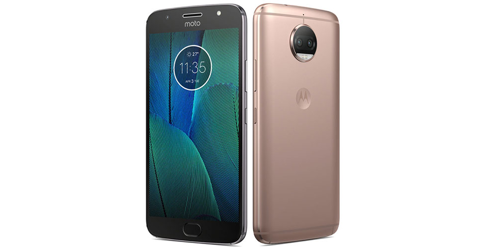 Moto G5S Plus Colors Blush Gold Lunar Grey India