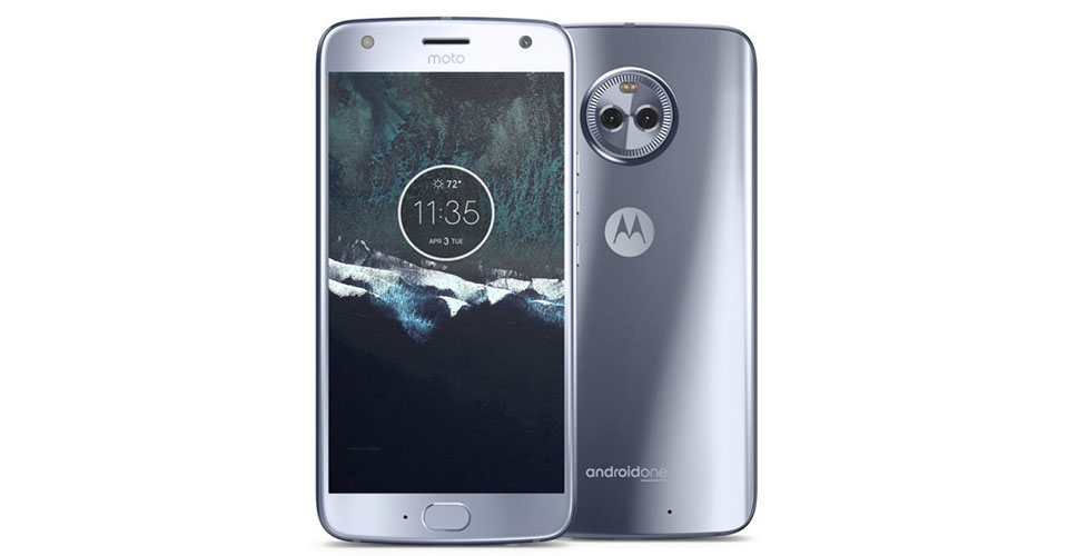 moto x4 android one sterling blue