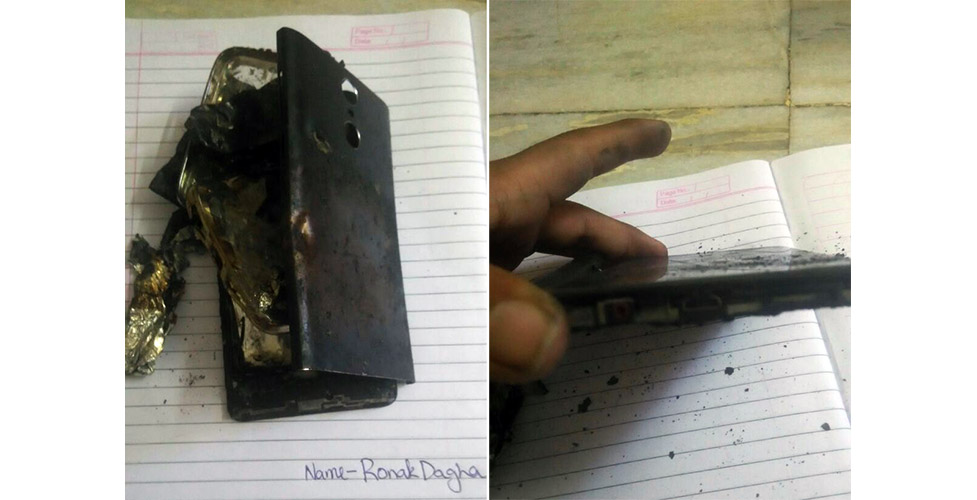 Xiaomi Redmi Note 4 explodes again, this time too while charging
