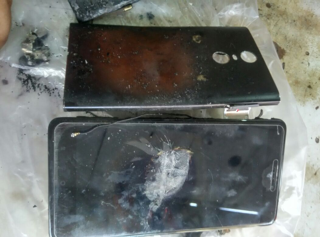 xiaomi redmi note 4 explodes again