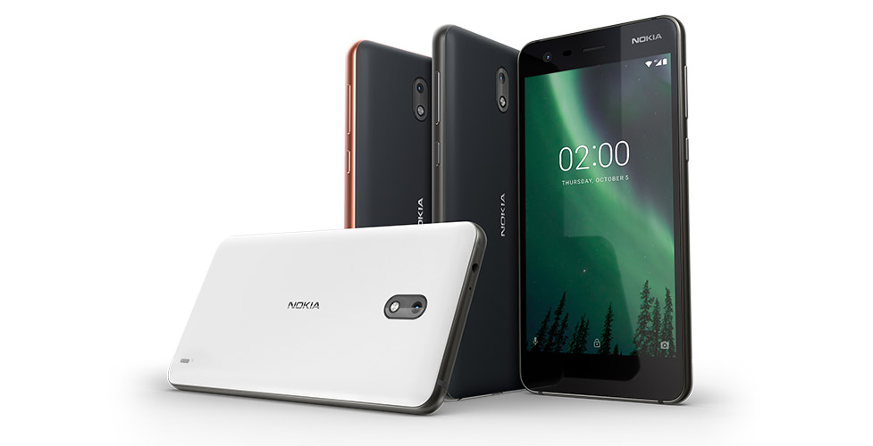 nokia 2 colors