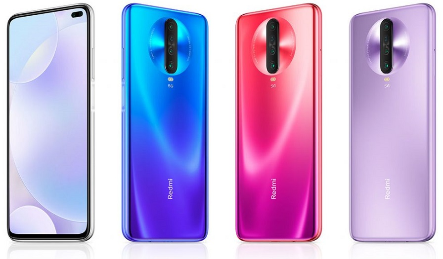 Redmi K30 5G colours