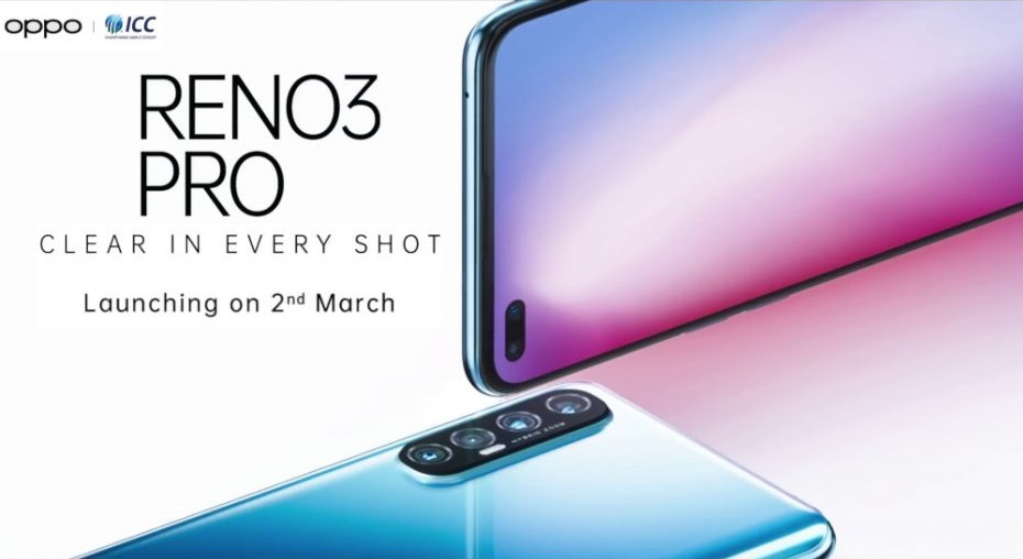 OPPO Reno 3 Pro India launch