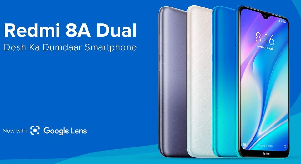 Redmi 8A Dual launch 01