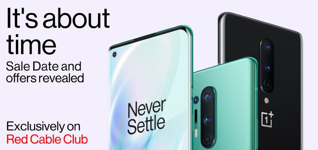 oneplus 8 series sale date