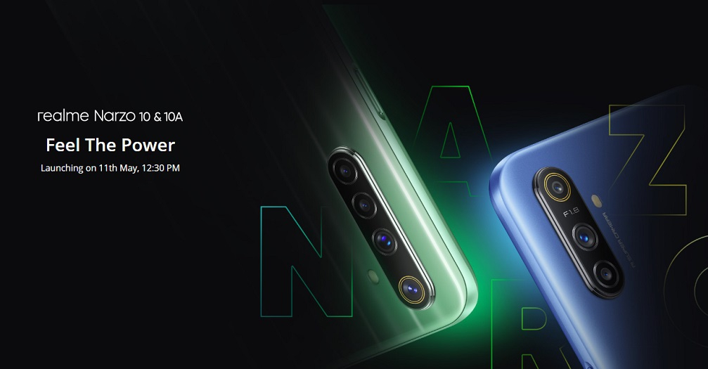 realme Narzo 10 series launch