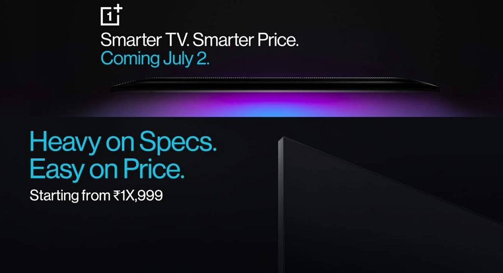 OnePlus TV price India