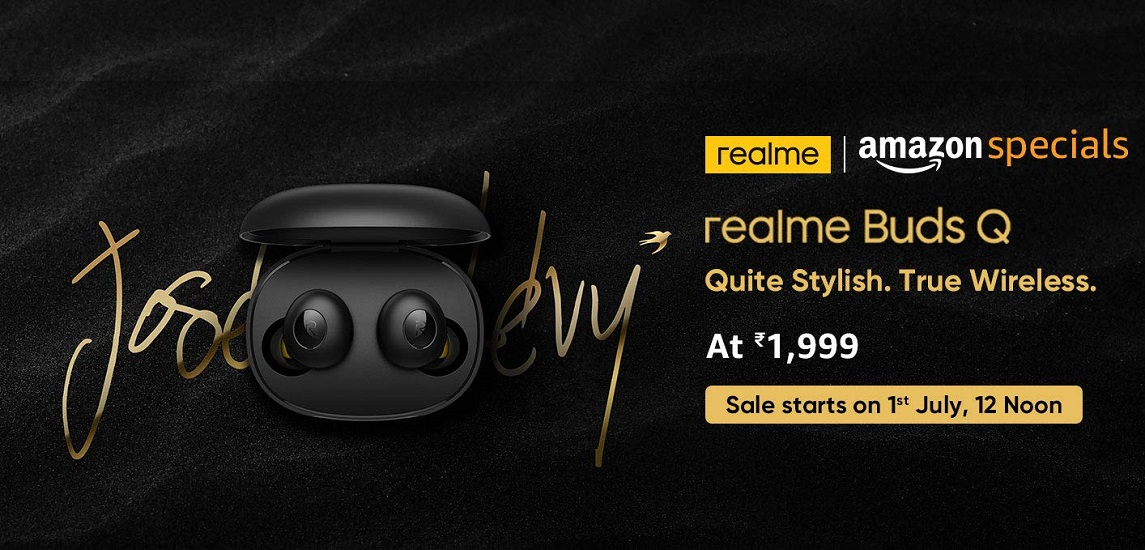 realme buds q launch