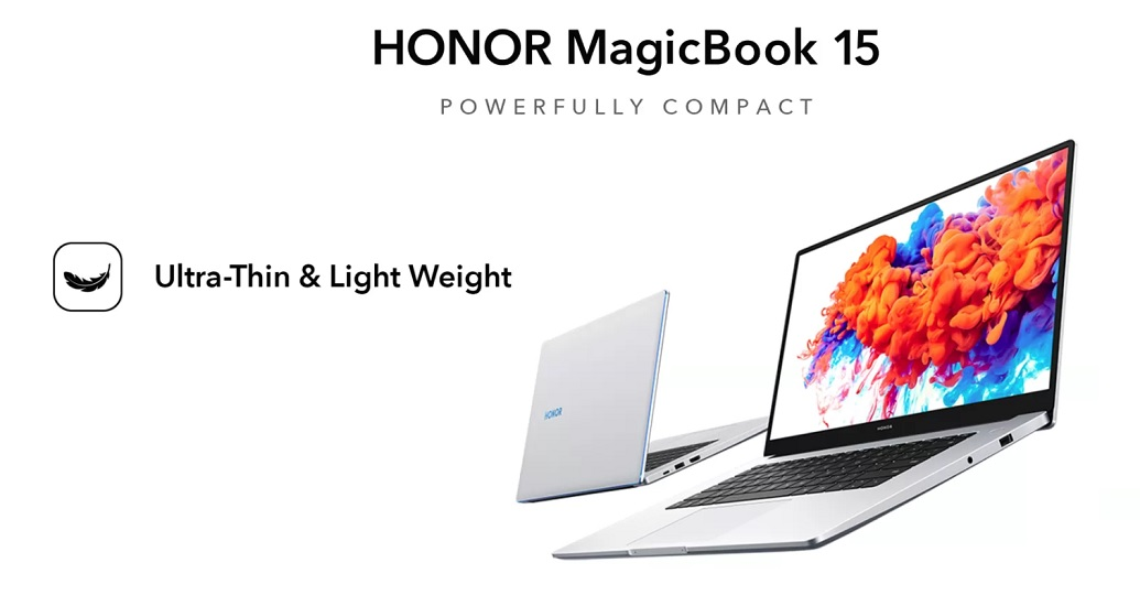 HONOR MagicBook 15 launch