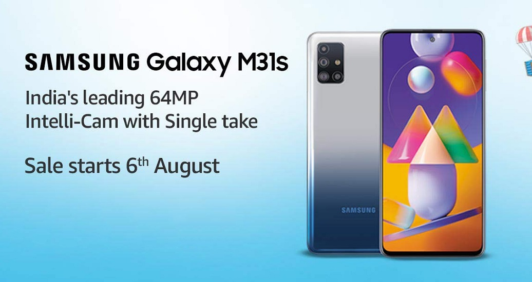 Samsung galaxy M31s launch india