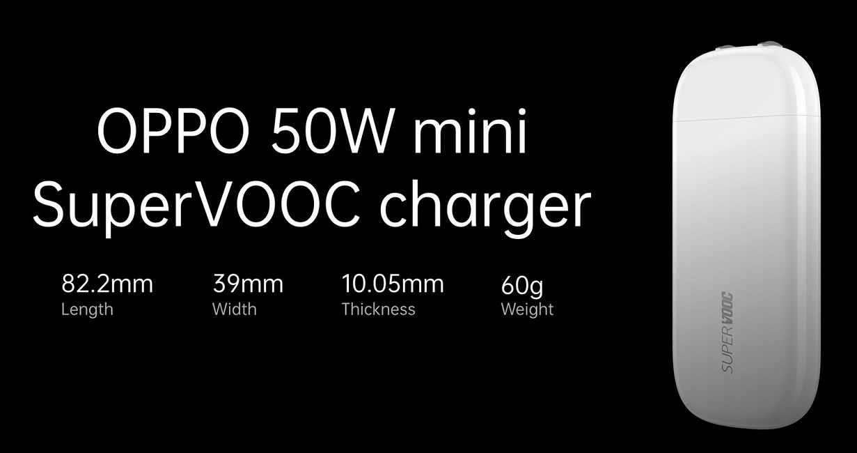 oppo 50w mini SuperVOOC charger