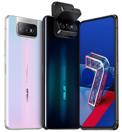 Asus Zenfone 7 colors
