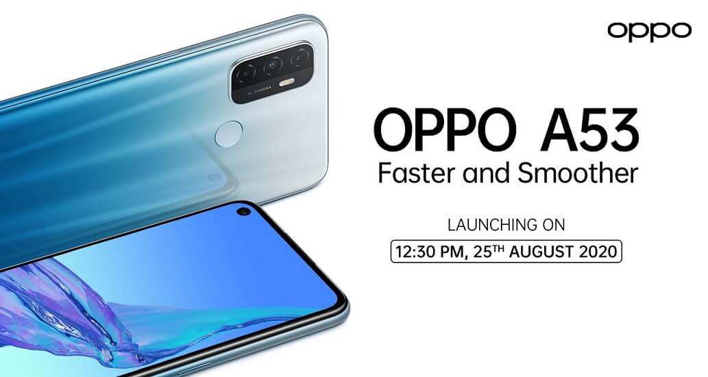 Oppo A53 launch date 1