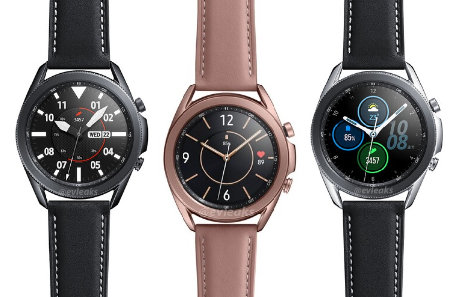 Samsung Galaxy Watch 3 colors