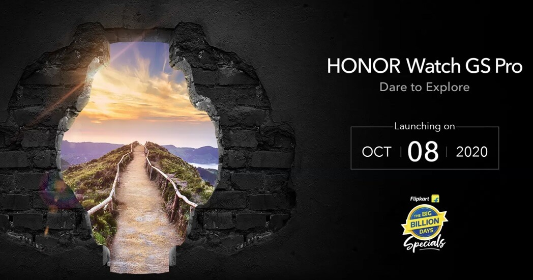 HONOR Watch GS Pro launch date india