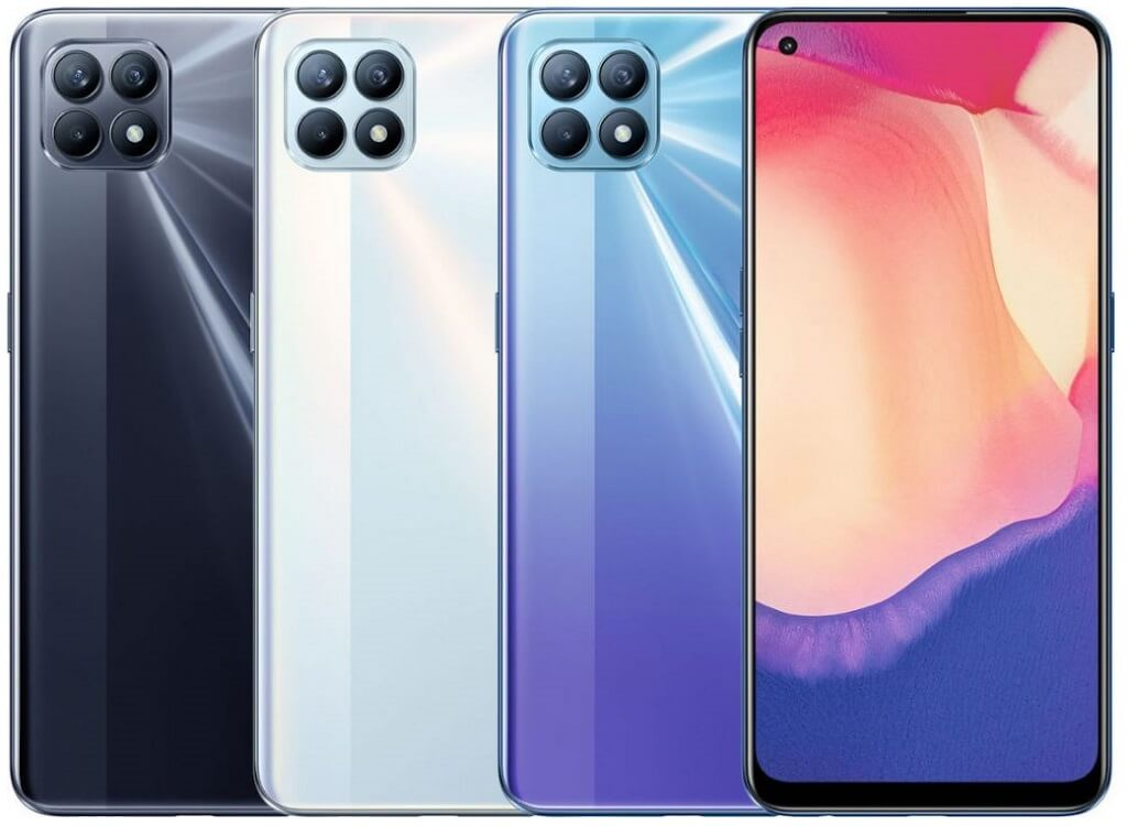 OPPO Reno 4 SE colors