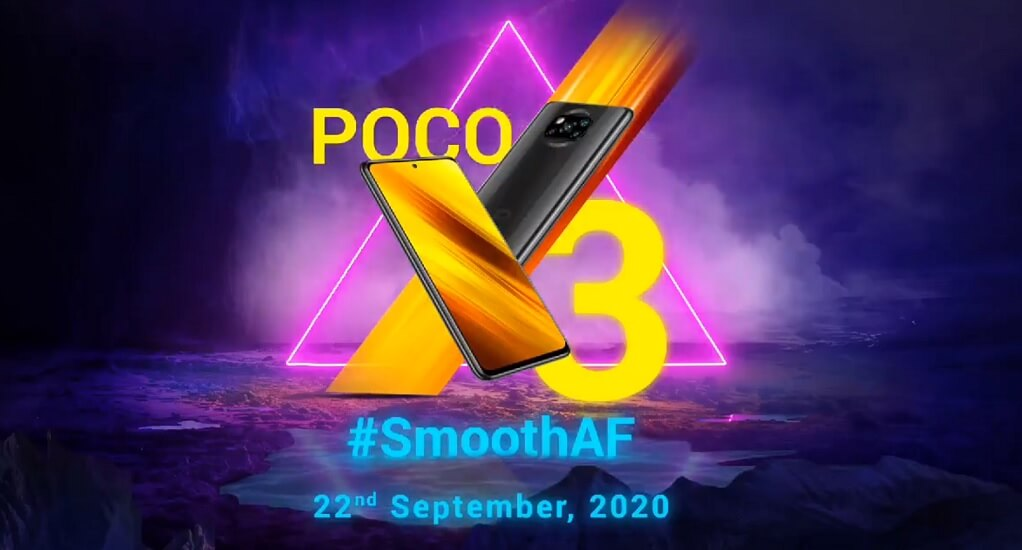 poco x3 launch date india