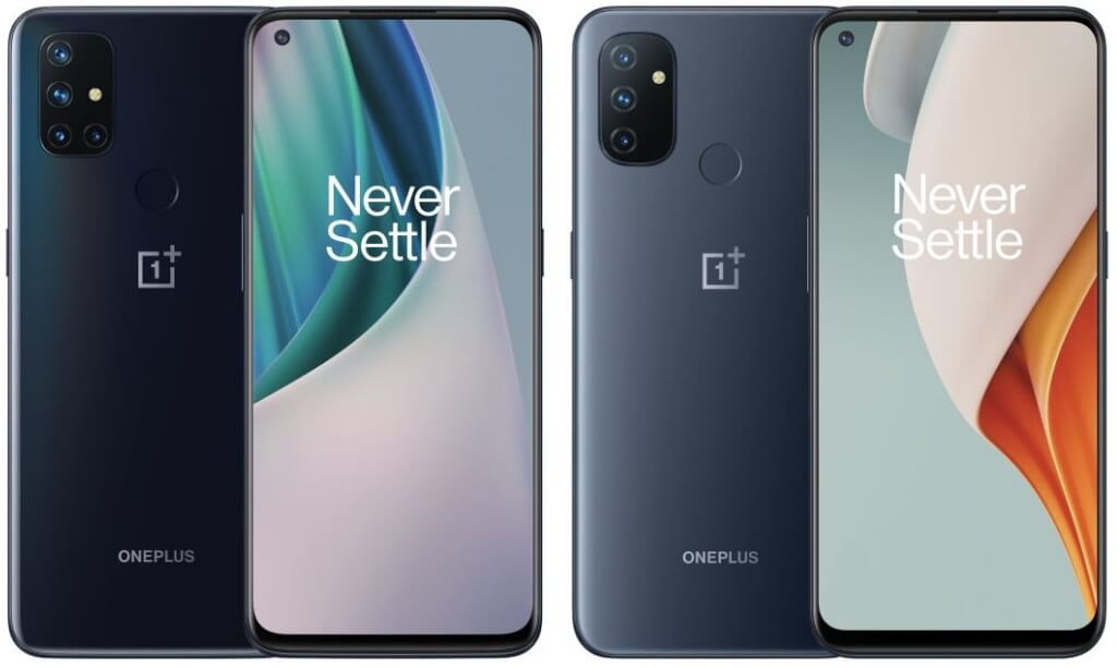 OnePlus Nord N10 5G and N100