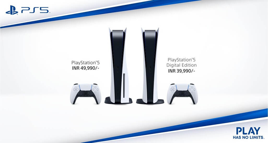 Sony PlayStation 5 price india