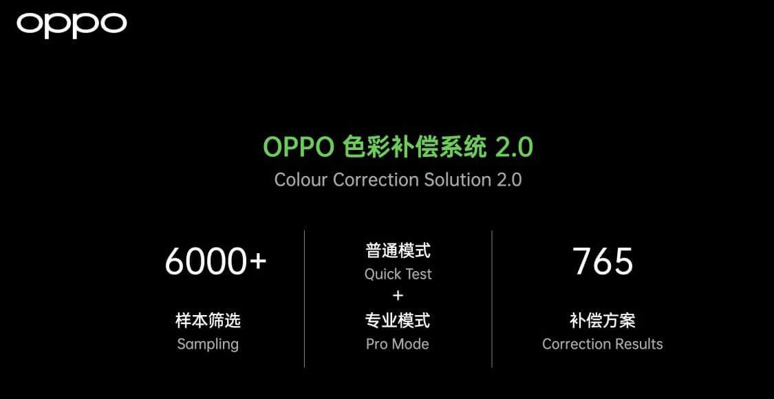 OPPO Find X3 colour correction solution 2