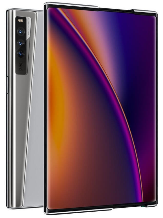 OPPO X 2021 rollable phone