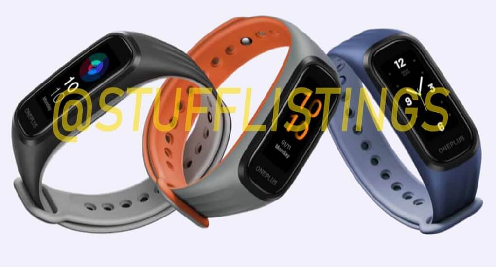 OnePlus fitness band leak image