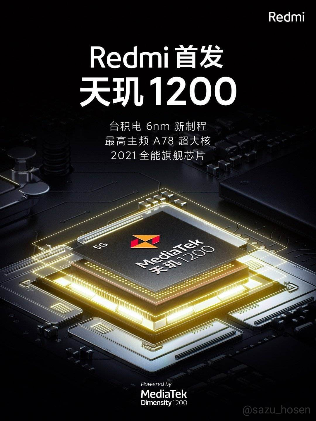 Realme X9 pro with Dimensity 1200