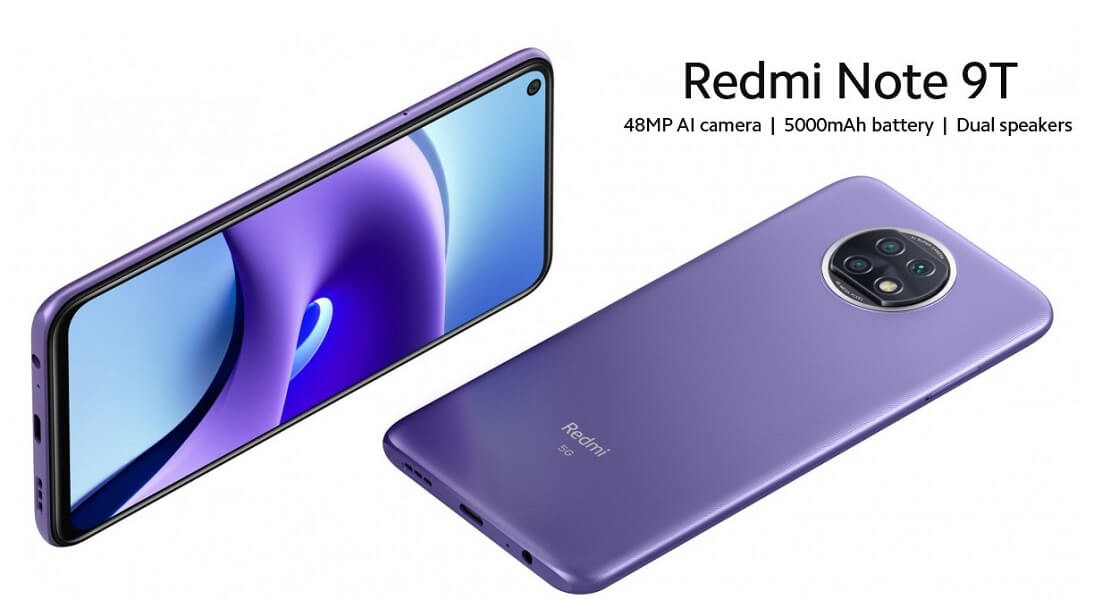 Xiaomi redmi note 9T 2