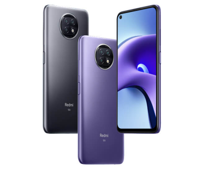 Xiaomi redmi note 9T colors